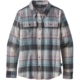 Patagonia W's Fjord Flannel Longsleeve Shirt Spectra: Cadet Blue